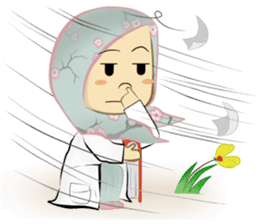 Medical Student (Hijab ver.) sticker #9584093