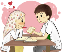 Medical Student (Hijab ver.) sticker #9584094
