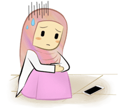 Medical Student (Hijab ver.) sticker #9584108