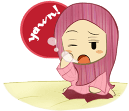 Medical Student (Hijab ver.) sticker #9584110