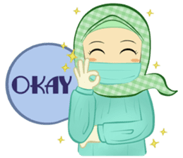 Medical Student (Hijab ver.) sticker #9584112