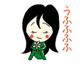 Sweet Potato Girl 2 sticker #9584771