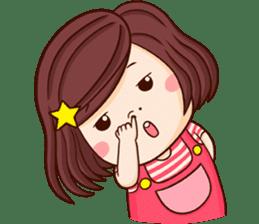 Choompoo pink 2 [Eng] sticker #9586881