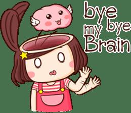 Choompoo pink 2 [Eng] sticker #9586901