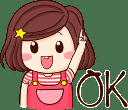 Choompoo pink 2 [Eng] sticker #9586904