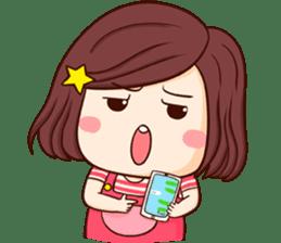 Choompoo pink 2 [Eng] sticker #9586913