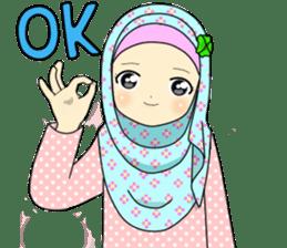Hana cute Hijab sticker #9594081