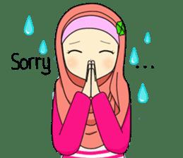 Hana cute Hijab sticker #9594086