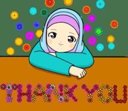 Hana cute Hijab sticker #9594090