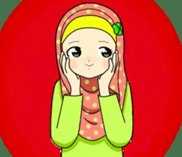 Hana cute Hijab sticker #9594091