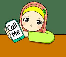 Hana cute Hijab sticker #9594092
