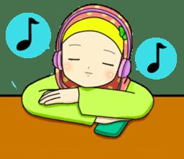 Hana cute Hijab sticker #9594094