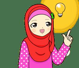 Hana cute Hijab sticker #9594096