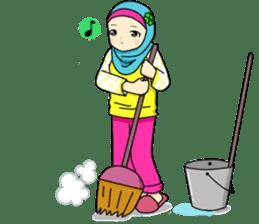 Hana cute Hijab sticker #9594100