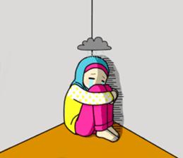 Hana cute Hijab sticker #9594102
