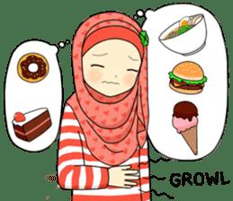 Hana cute Hijab sticker #9594103