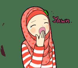 Hana cute Hijab sticker #9594106