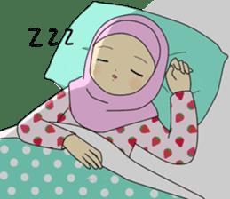 Hana cute Hijab sticker #9594107