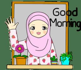 Hana cute Hijab sticker #9594108