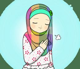 Hana cute Hijab sticker #9594109