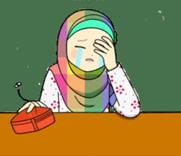 Hana cute Hijab sticker #9594110