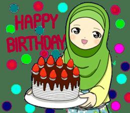 Hana cute Hijab sticker #9594114
