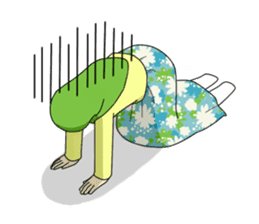 Hana cute Hijab sticker #9594115