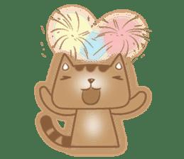 Cocoa Cat sticker #9599722