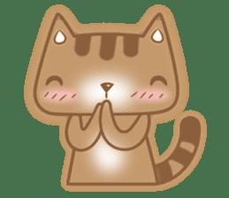 Cocoa Cat sticker #9599723