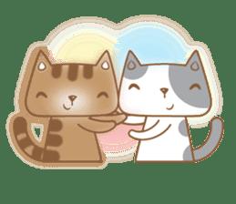 Cocoa Cat sticker #9599726