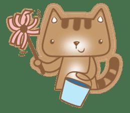 Cocoa Cat sticker #9599728