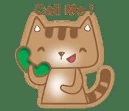 Cocoa Cat sticker #9599729