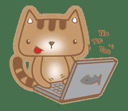 Cocoa Cat sticker #9599730
