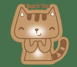 Cocoa Cat sticker #9599731