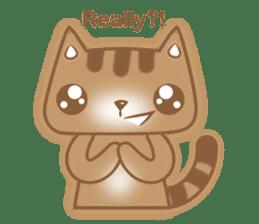 Cocoa Cat sticker #9599732