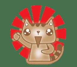 Cocoa Cat sticker #9599735