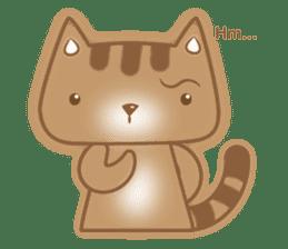 Cocoa Cat sticker #9599737