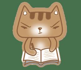 Cocoa Cat sticker #9599739