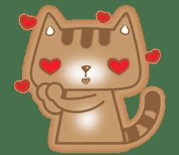 Cocoa Cat sticker #9599740