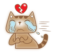 Cocoa Cat sticker #9599742