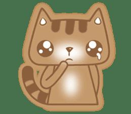 Cocoa Cat sticker #9599745