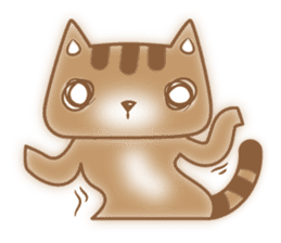 Cocoa Cat sticker #9599749