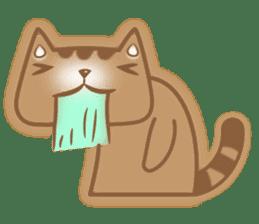 Cocoa Cat sticker #9599751