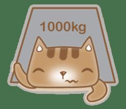 Cocoa Cat sticker #9599755