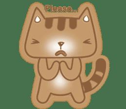 Cocoa Cat sticker #9599756