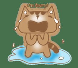 Cocoa Cat sticker #9599757