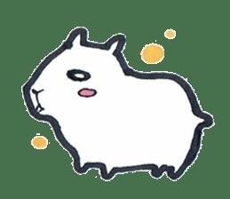 listlessly capybara sticker #9601240