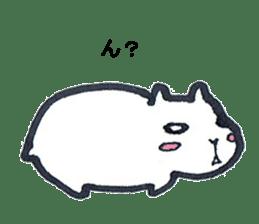 listlessly capybara sticker #9601241