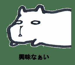 listlessly capybara sticker #9601242
