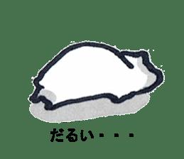 listlessly capybara sticker #9601245